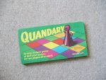 Quandary - Spear's Games 1970 vintage games